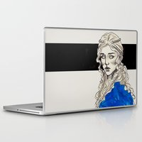 mother of dragons Laptop & iPad Skins featuring Mother Of Dragons by Fatma Sahem