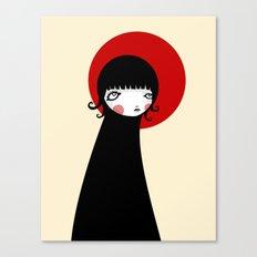 Redd Moon Canvas Print