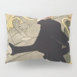 Divan Japonais - Henri de Toulouse Lautrec Pillow Sham