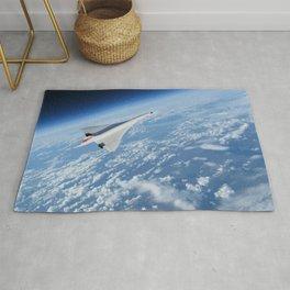 Concorde - Earth Curvature Rug