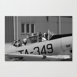 Flying History - 6 Canvas Print