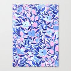 Nonchalant Blue Canvas Print