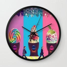 Sundae Candy Wall Clock