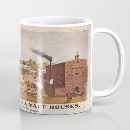 Vintage poster - Frank Jones' Brewery & Malt Houses Coffee Mug