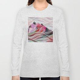 Ocean Sea Mountains Long Sleeve T-shirt