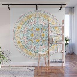 Spring Mandala Wall Mural