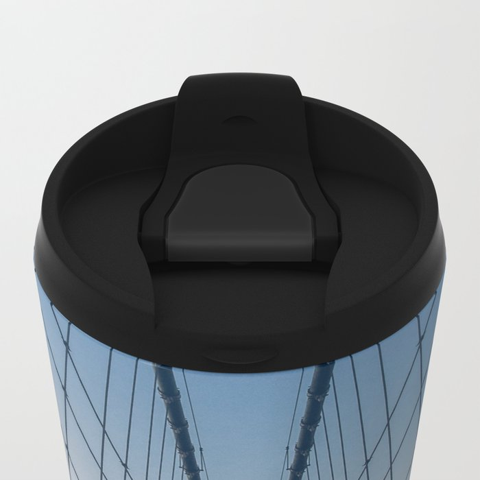 Brooklyn Mornings Metal Travel Mug