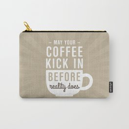 Coffee Reality Carry-All Pouch