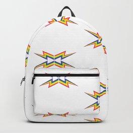 Rainbow Medallion Pattern Backpack