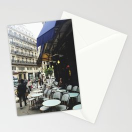 Cafe Terrace, Paris Stationery Cards