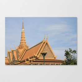Golden Buddha, Cambodia Canvas Print