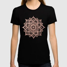 New Rose Gold Mandala T-shirt