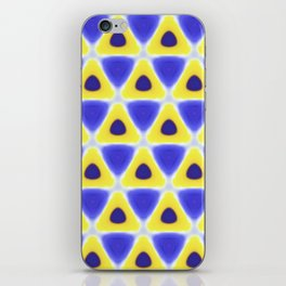 A sea of Triangles iPhone Skin