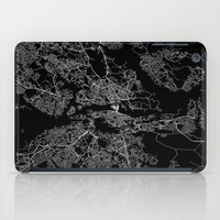 stockholm iPad Cases featuring Stockholm  by Line Line Lines