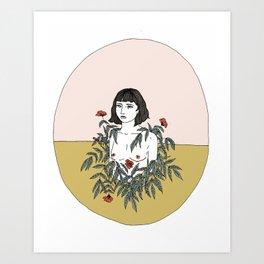 Halfsies Art Print