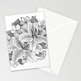 Lillies Stationery Cards