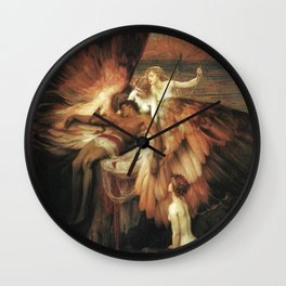 Mourning for Icarus - Draper Herbert James Wall Clock