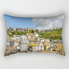 Port Isaac - Houses Rectangular Pillow