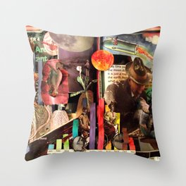 Elementary Science | Book Sculpture Throw Pillow