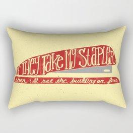 Office Space Rectangular Pillow