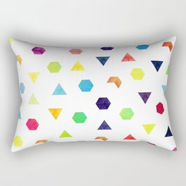 Random Geometry Rectangular Pillow