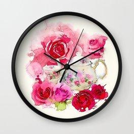 Tea 2 Wall Clock