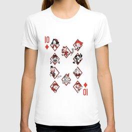 Sawdust Deck: The 10 of Diamonds T-shirt