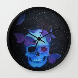 Deathly Attraction Wall Clock