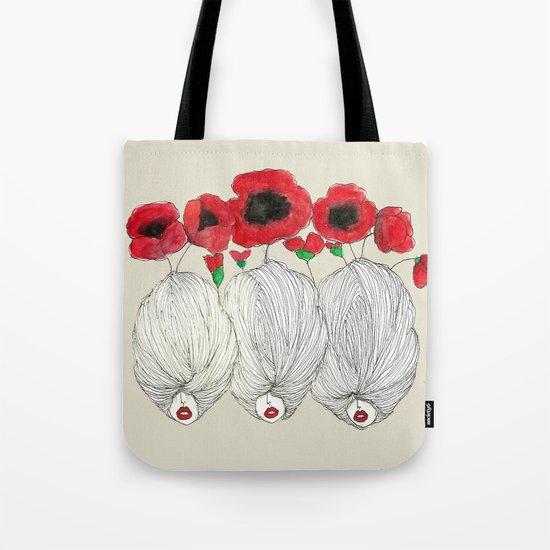 Poppy Girls Tote Bag