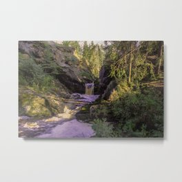 The stream in mountains Metal Print