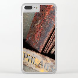 Abandoned XIII Clear iPhone Case