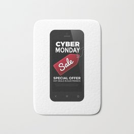 Cyber Monday Sale Bath Mat
