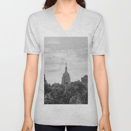 Empire State Building Unisex V-Neck