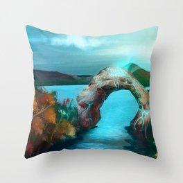 -changing seasons- Throw Pillow