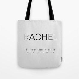 Rachel Duncan Binary Tote Bag