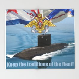 Submarine Throw Blanket