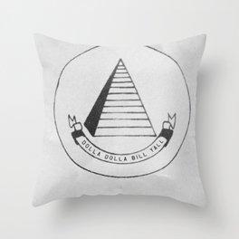C.R.E.A.M. Throw Pillow