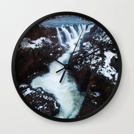 Waterfall in Iceland Print (RR 267) Wall Clock