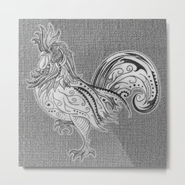 Supreme Chook Metal Print