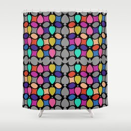 COLORFUL DECORATION ORNAMENT Shower Curtain