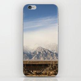Manzanar Internment Camp, Highway 395, Independence, CA iPhone Skin