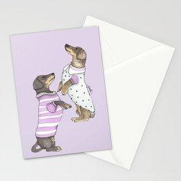 Dancing Salchichas Stationery Cards