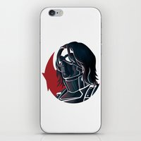 bucky iPhone & iPod Skins featuring Bucky by Charleighkat
