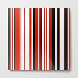 Minimal Art Lines 08B Metal Print