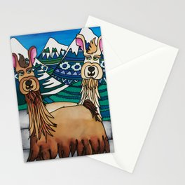 A Spittoon of Alpacas Stationery Cards