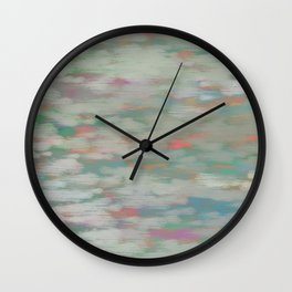colorful pattern Wall Clock