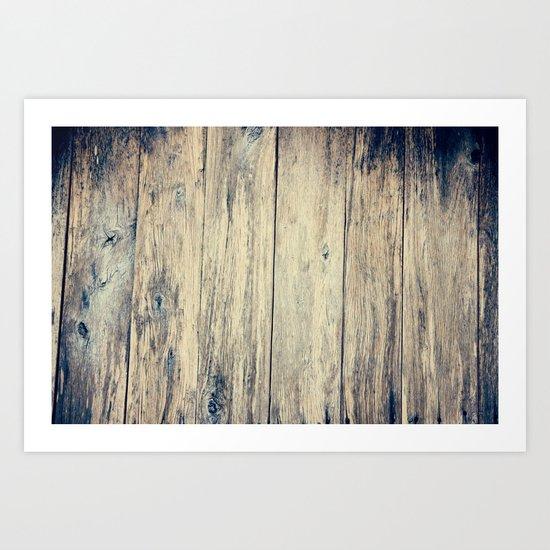 Wood Photography II Art Print