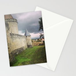 Carcassonne castle Stationery Cards