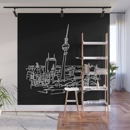 Panorama of Berlin with TV-tower Wall Mural