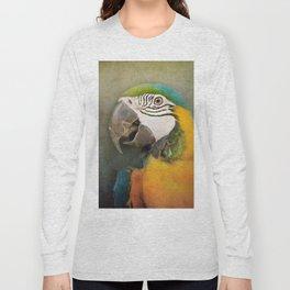 Portrait of a Parrot Long Sleeve T-shirt